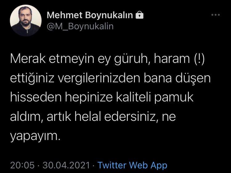 Eski Ayasofya baş imamı Mehmet Boynukalın: Vergilerinizden bana düşen hisseden hepinize kaliteli pamuk aldım | Haberler > GÜNCEL