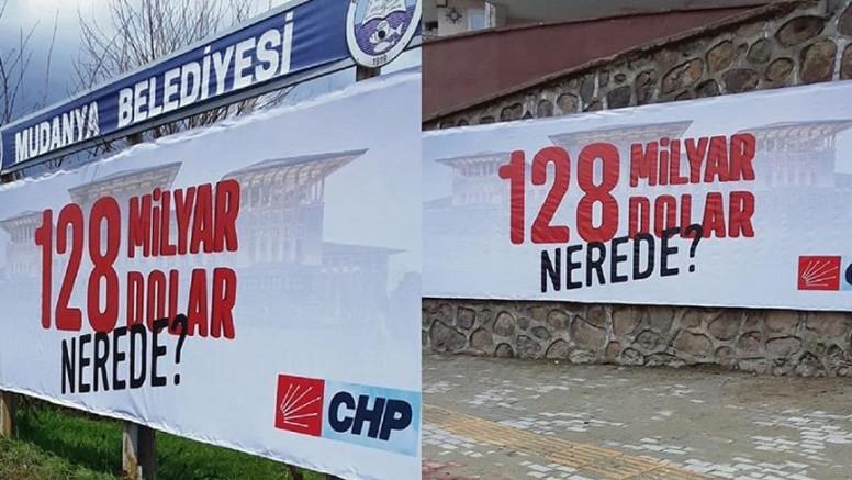 128 milyar dolar nerede afişlerine soruşturma başlatıldı