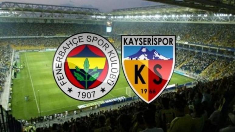 2-1 Fenerbahçe - Kayserispor