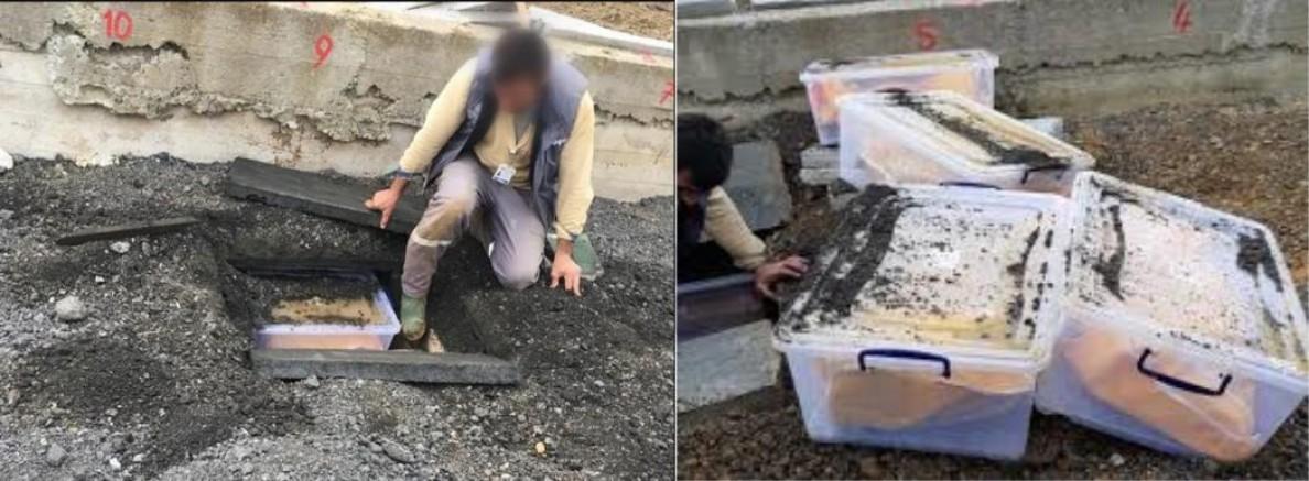 2017 yılında Bitlis'ten çıkarılan 261 cenazenin İstanbul'da kaldırımın altına defnedilme görüntüleri ortaya çıktı