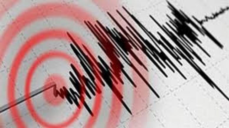 5,9 büyüklüğünde deprem!