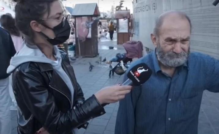 74 yaşında hasta haliyle kâğıt toplayan vatandaş hem ağladı hem ağlattı (VİDEO)