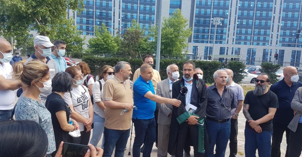 AABK Onursal Başkanı Turgut Öker'in duruşması 28 Ekim'e ertelendi
