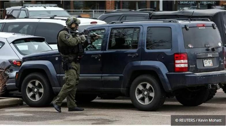 ABD'nin Colorado eyaletine bağlı Boulder kentindeki bir süpermarkette silahlı saldırı