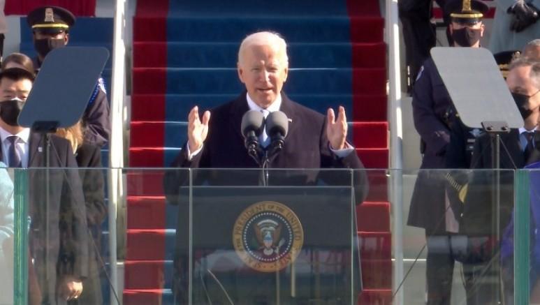 ABD'nin yeni başkanı  Joe Biden yemin etti