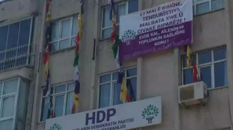 Adıyaman HDP il binasına polis baskını
