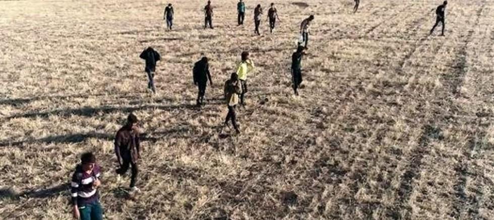 Afgan vatandaşlarının İran sınırı üzerinde Türkiye'ye kaçak girişi devam ediyor
