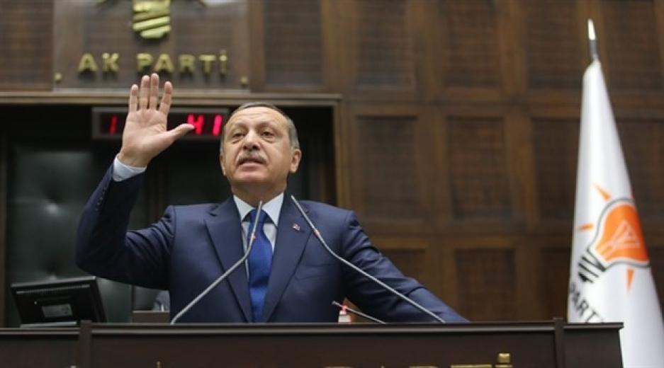 AKP Gurup toplantısında Erdoğan konuşması esnasında vatandaş açız diye bağırdı (VİDEO)
