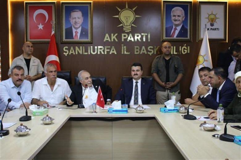 AKP'li İl Başkanı görevi bırakıyor