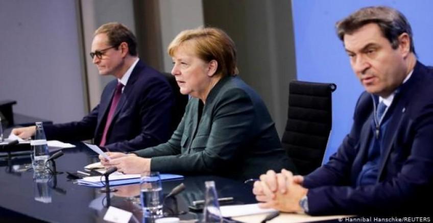 Almanya'da sıkılaştırma 14 Şubat'a kadar uzatıldı