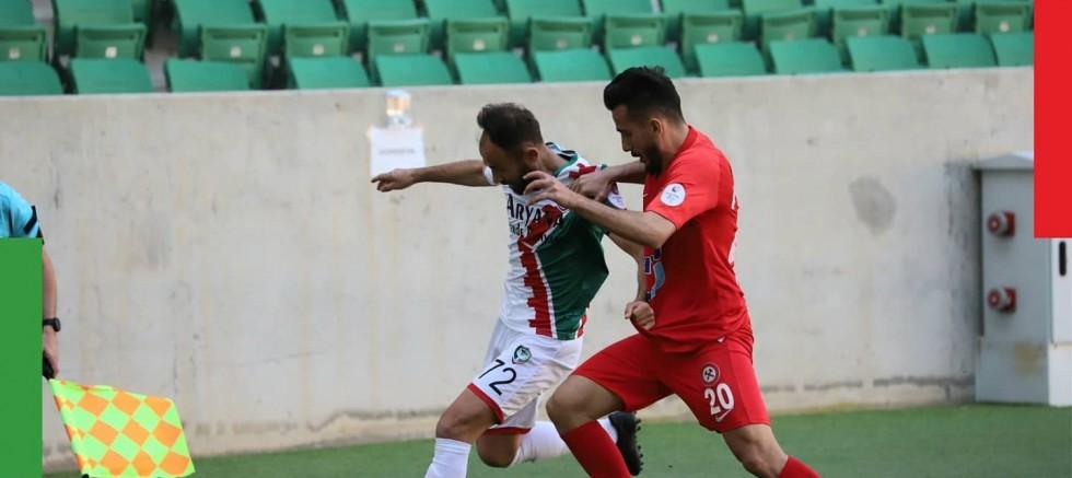 Amedspor, Zonguldak Kömürspor'u 2-0 mağlup etti