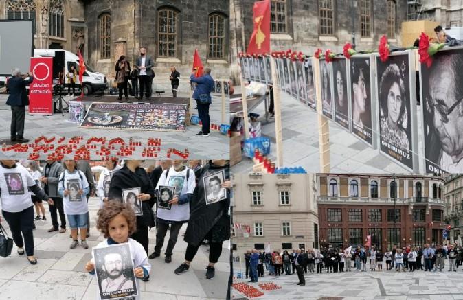 AABF, Sivas Katliamının 28. Yılında Viyana Stephansplatz'da Madımak Şehitlerini andı (VİDEO)