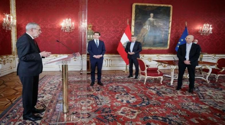 Avusturya'nın yeni Çalışma Bakanı resmen göreve başladı
