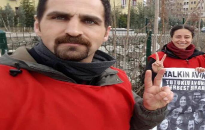 """AYM'nin """"hak ihlali"""" kararına karşın Alev Şahin ve Mehmet Dersulu tahliye edilmedi"""