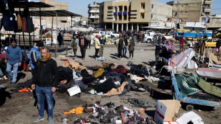"""""""Bağdat patlamasının arkasında IŞİD var"""""""
