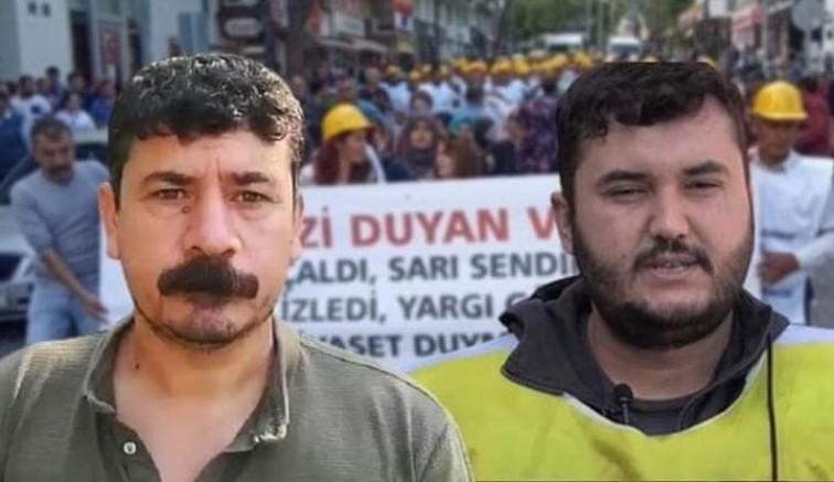 Bağımsız Maden İş Genel Başkanı Tahir Çetin ile maden işçisi Ali Faik İnter Soma'da Toprağa verildi