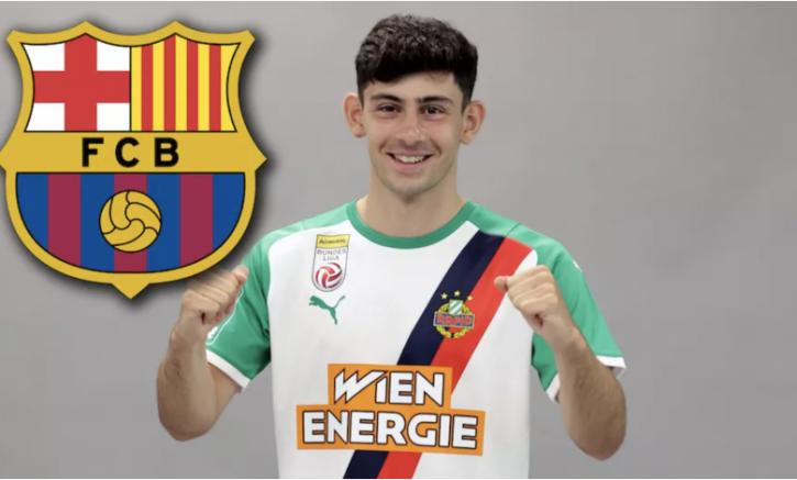 Barcelona, Rapid Wien'nin Türk asıllı futbolcusu Yusuf Demir'i bir yıllığına kiraladı