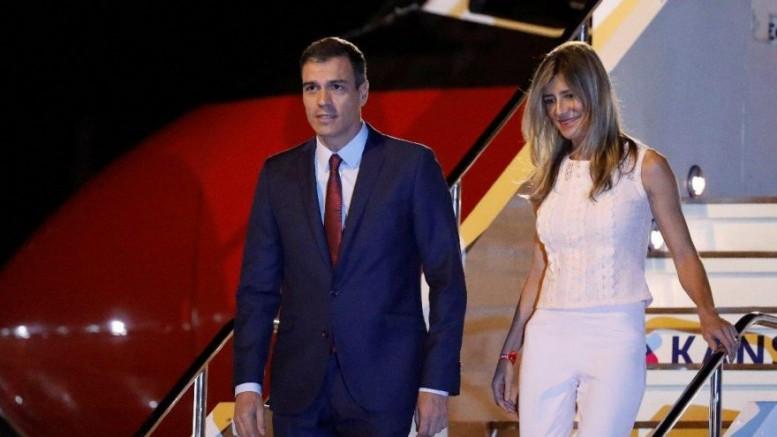Başbakanı Pedro Sanchez'in eşi Maria Begona Gomez Fernandez'de koronavirüs pozitif çıktı.
