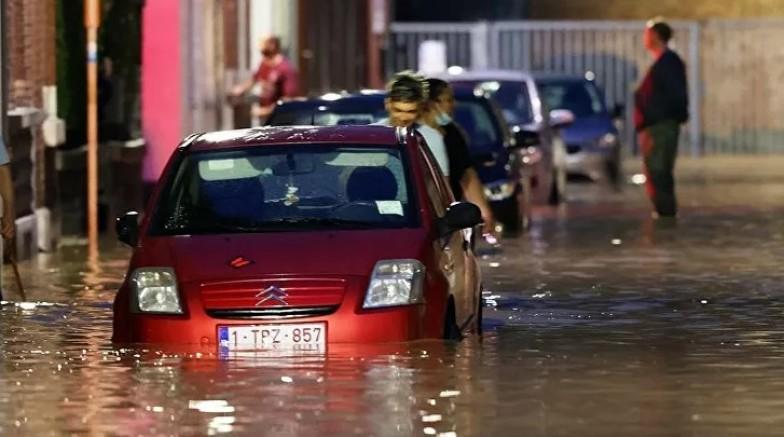 Belçika 10 gün sonra yine sular altında