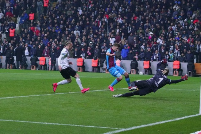 Beşiktaş Trabzonspor maç sonucu: 2-2