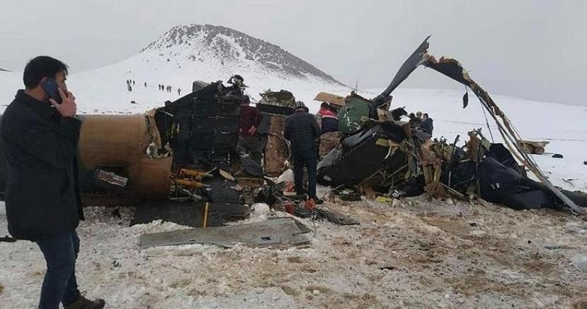 Bitlis'te düşen askeri helikopter ile ilgili yeni gelişme