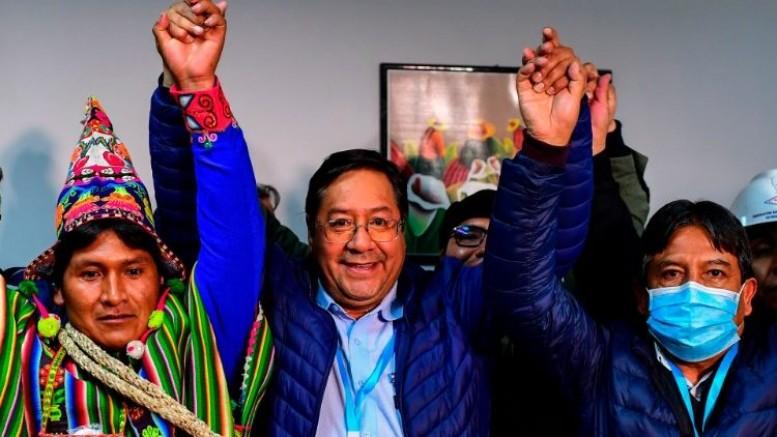 Bolivya'daki seçimin galibi sosyalist aday Luis Arce