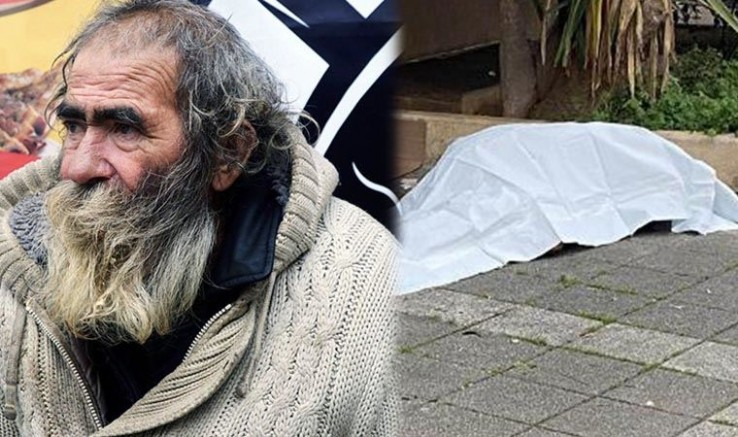 Bu utanç hepimizin: Sokakta yaşayan 65 yaşında ki yurttaş donarak hayatını kaybetti