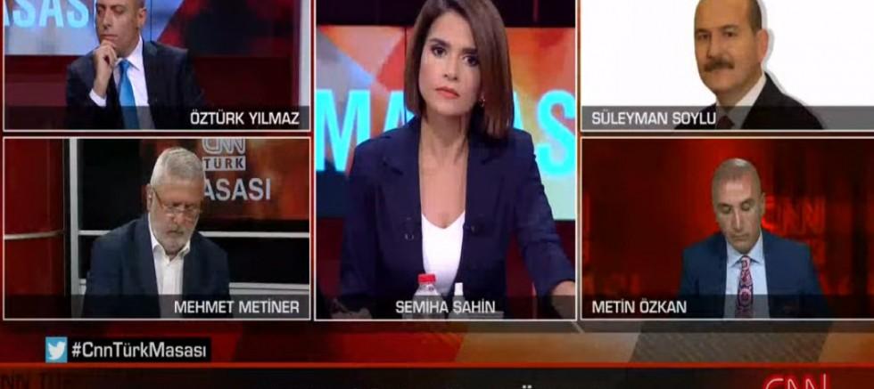 Çanlı yayında Mehmet Metiner ile Süleyman Soylu kavga etti- (VİDEO)