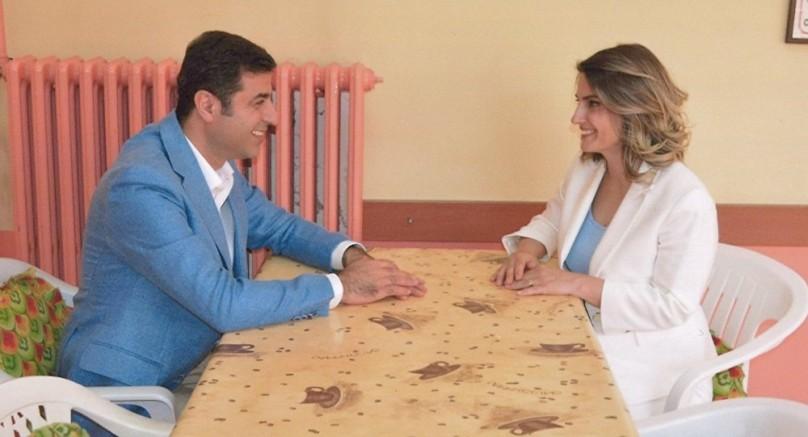 Cezaevinde olan HDP'nin eski genel başkanı Selahattin Demirtaş'ın eşi Başak Demirtaş uyardı, durum çok ciddi