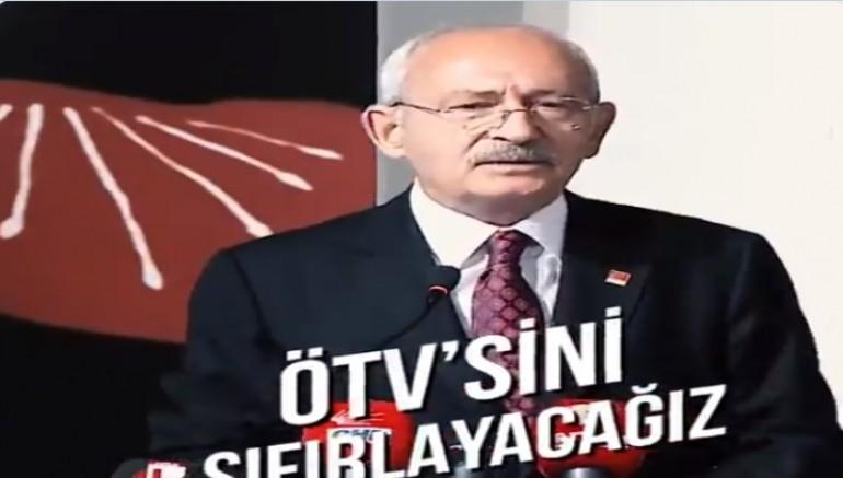 CHP Genel Başkanı Kemal Kılıçdaroğlu'ndan, ÖTV'siz araba paylaşımı!