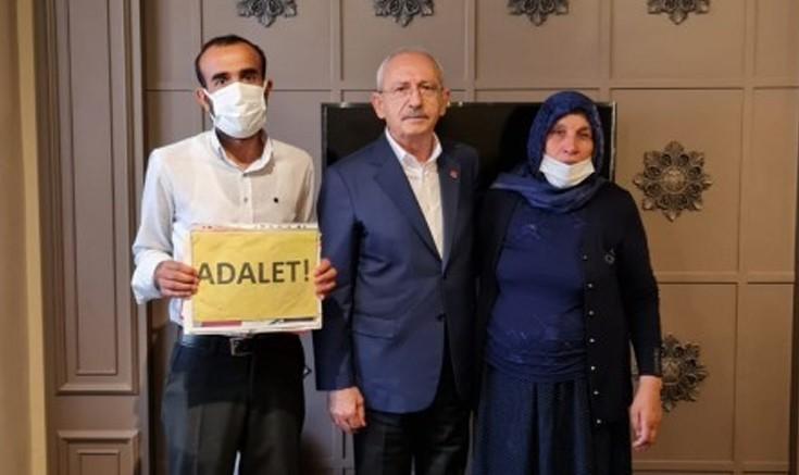 CHP Genel Başkanı Kılıçtaroğlu  Şenyaşar ailesi ile görüştü