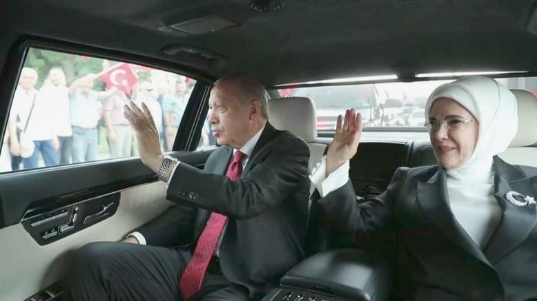Cumhurbaşkanı Erdoğan'a 2.  Yeni makam aracı 5 milyon tl