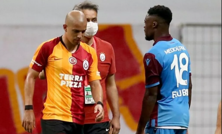 Derbide kazanan Trabzon: Galatasaray- Trabzon 1-3