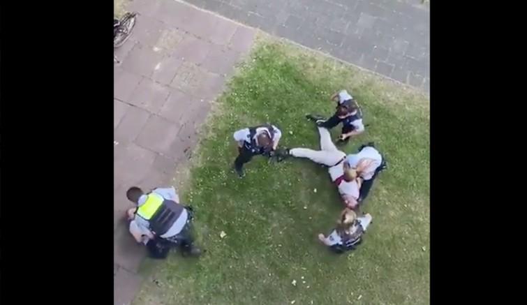 Dersimli aileye Alman polisinden cop ve biber gazlı saldırı