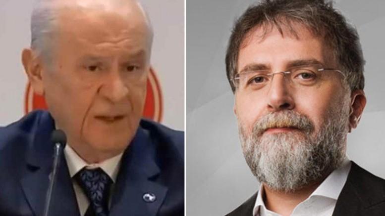Devlet Bahçeli Ahmet Hakan'a 'ispatlamazsan alçaksın' dedi.