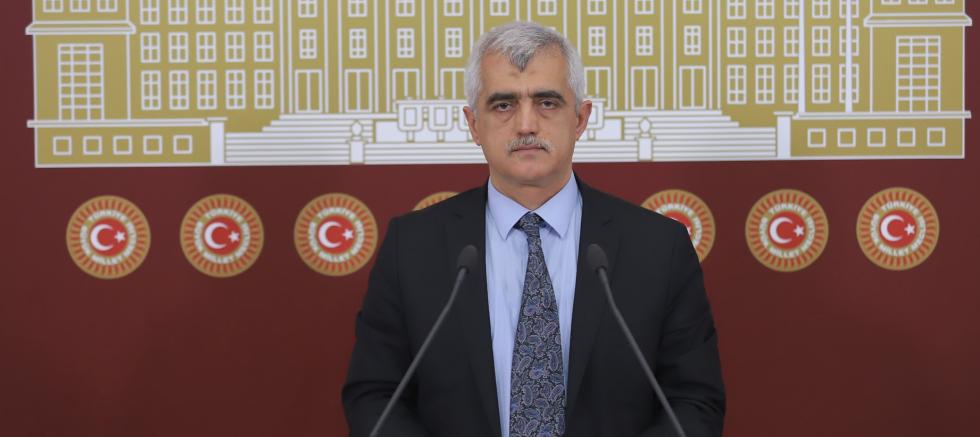 Dr. Gergerlioğlu: Bir yanda İnsan hakları eylem planı diğer yanda Milletvekilleri Meclis'ten uzaklaştırılmaya çalışılıyor!