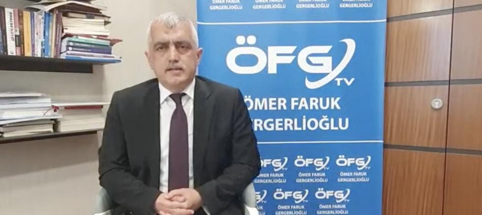 Dr. Ömer Faruk Gergerli oğlu: İnsanların ana dili ana sütü kadar helaldir