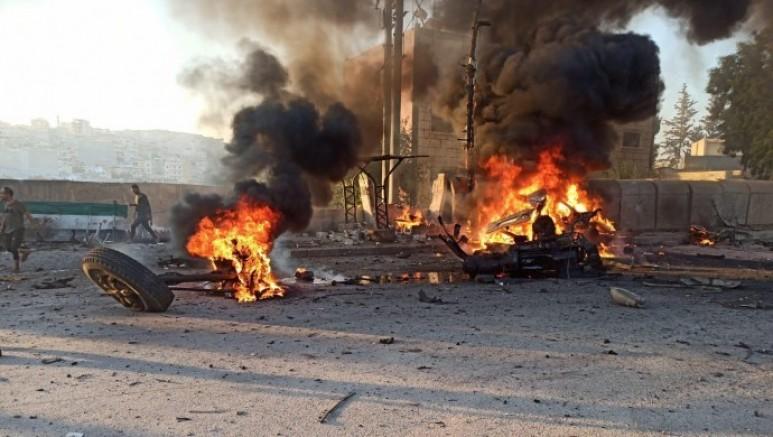 Efrin'de meydana gelen patlamada ölü ve yaralı sayısı arttı