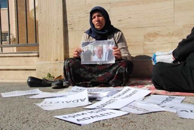 Emine Şenyaşar'ın 'adalet nöbeti' 6. gününde (VİDEO)