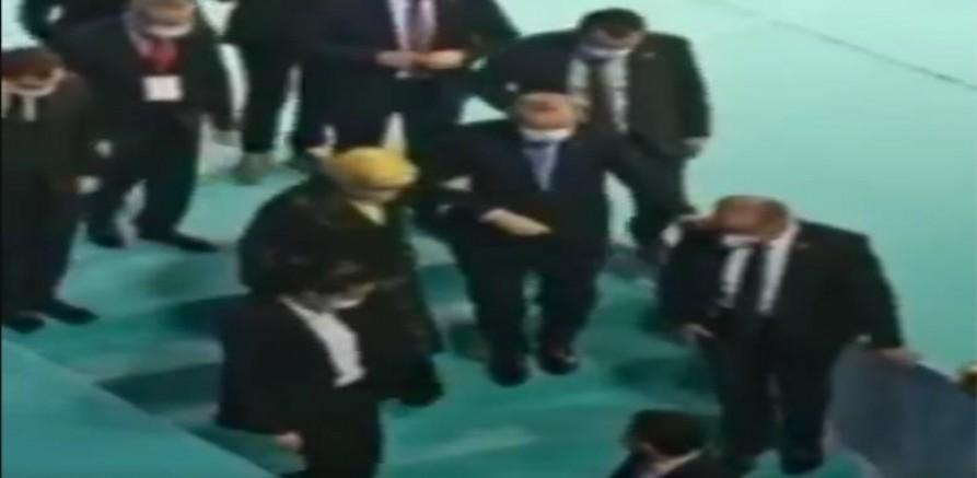Erdoğan'ın Sağlık Durumunu düşündüren görüntüler (VİDEO)
