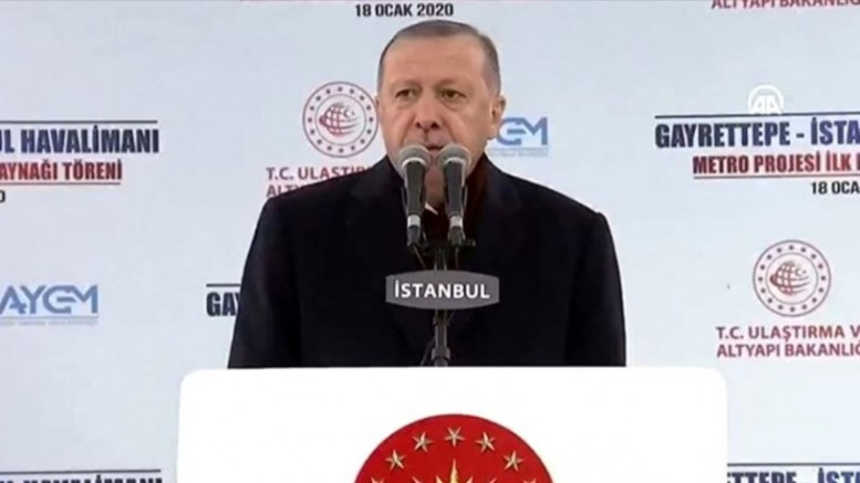 Katıldığı törende Erdoğan: İstanbul'u mahalli yönetime bırakamayız dedi