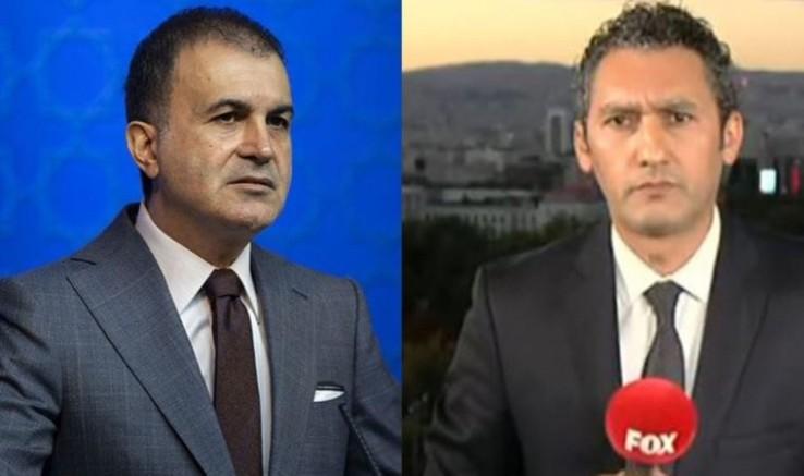 Fox TV muhabiri Barış Kaya'dan AK Parti Sözcüsü Çelik'e yanıt: Sorma dediği soruları sorduğum için almadı salona
