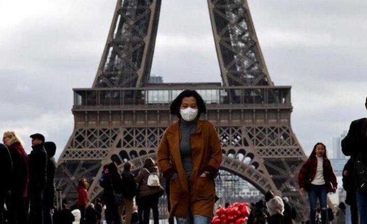 Fransa'da son 24 saatte 22 bin 46 yeni vaka tespit edildi