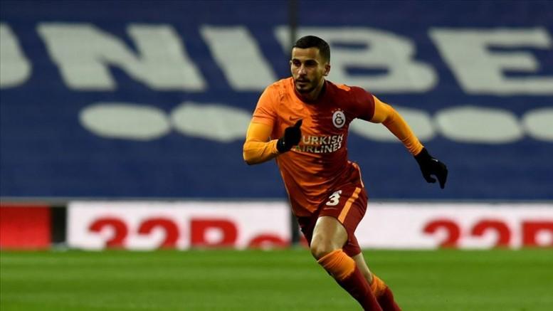 Galatasaray'da Omar Elabdellaoui hastaneye kaldırıldı