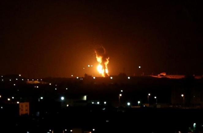 Gazze Şeridi'ne İsrail hava saldırısı