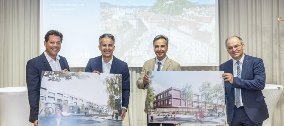 Graz: 75 Millionen Euro für neue Schulen