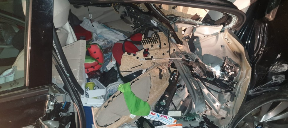 Graz'da İzine Giden Erdem Ailesi Lüleburgaz'da Kaza Geçirdi