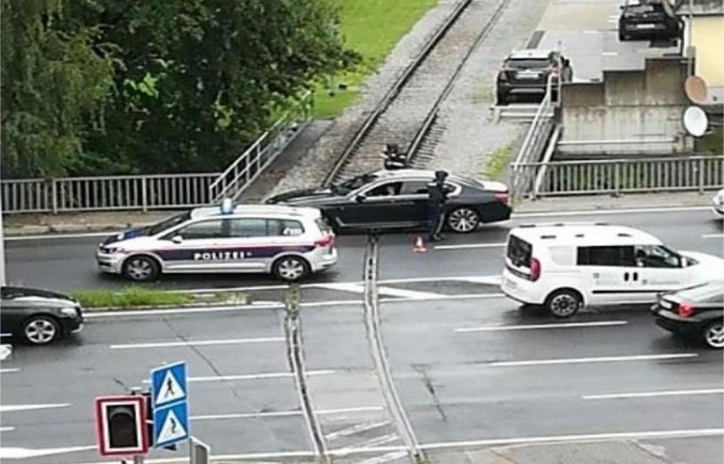 Graz-Geidorf'ta banka soygunu: Polis kaçan soyguncuları arıyor