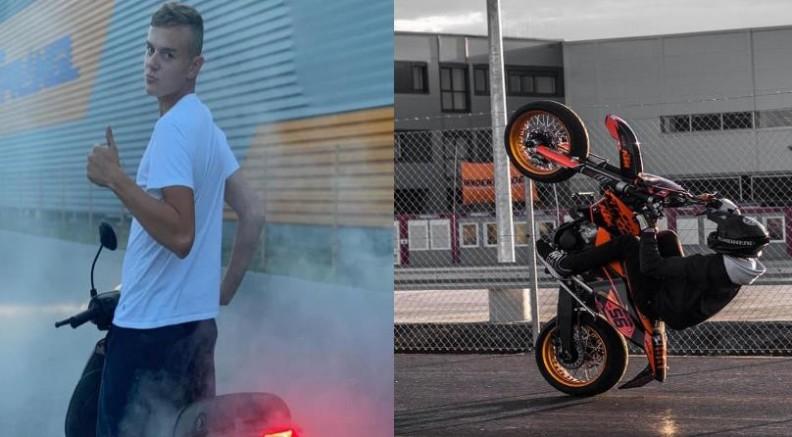 Graz-Seiersberg'de arabanın çarptığı 17 yaşındaki motosikletçi genç olay yerinde hayatını kaybetti