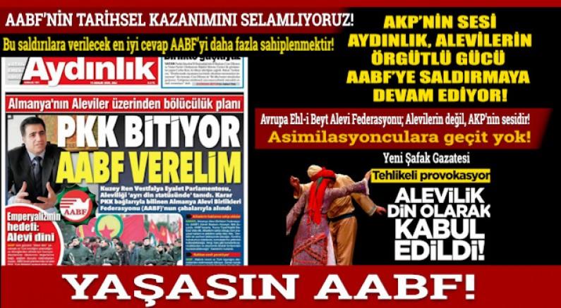 Hasan Subaşı: Saldırılara verilecek en iyi cevap AABF'yi daha fazla sahiplenmektir!